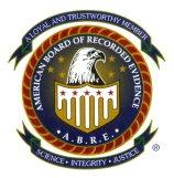 Member, American Board of Recorded Evidence